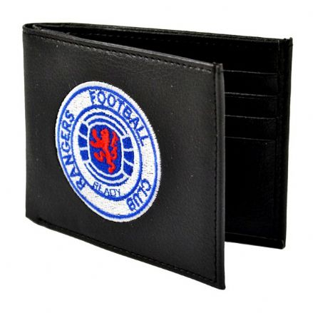 Rangers Embroidered PU Leather Wallet